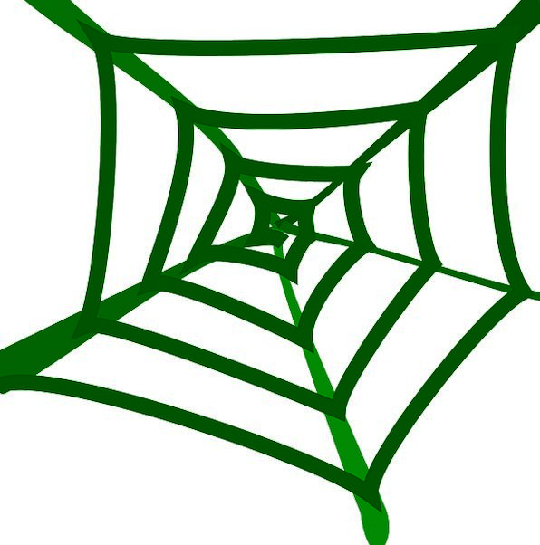 Spider Web Landscapes Nature Sticky Tacky Spider D