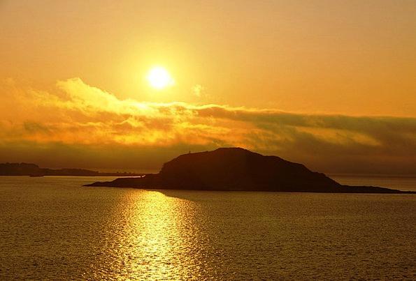 Sunset Sundown Vacation Travel Abendstimmung Norwa