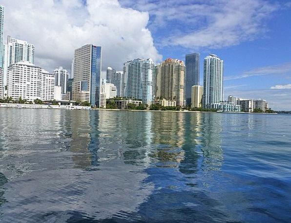 Miami Vacation Travel Ocean Marine Florida View Ar