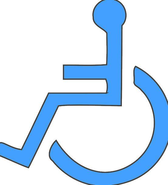 Wheelchair Incapacity Handicap Disability Free Vec
