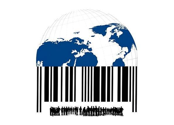 Bar Code Scan Lines Barcode Group Goods Properties