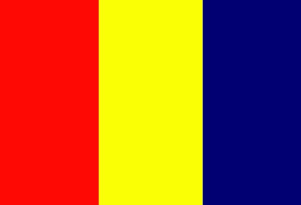 Chad Standard National Nationwide Flag Country Rep