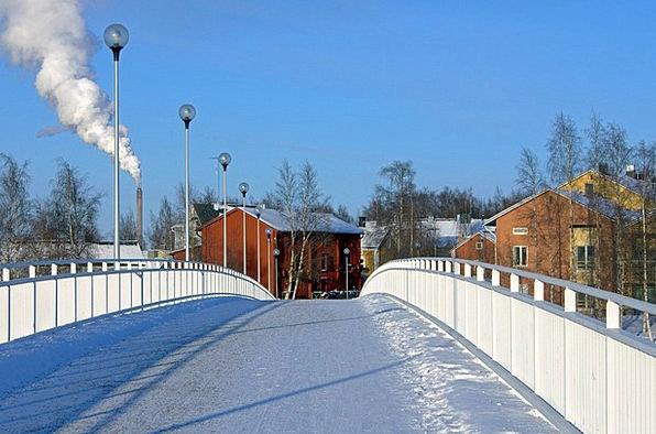 Finland Buildings Bond Architecture Snow Snowflake