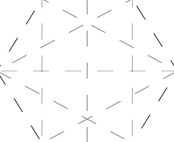 Hexateron Hexagram 5-Simplex Hexagon Shape Star Fr