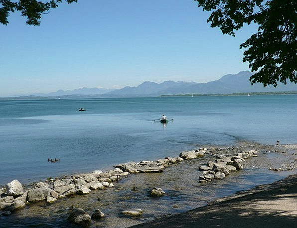 Chiemsee Understand Mountains Crags See Mood Dispo