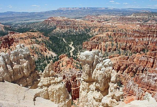 Bryce National Park Landscapes Set Nature Landscap