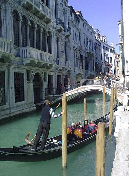 Venice Channel Station Gondola