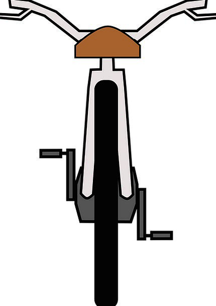 Bike Motorbike Helm Pedals Wheels Wheel Saddle Bur