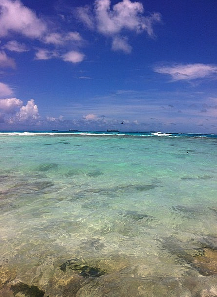 The Sea Clean Blue Azure Crystal Clear