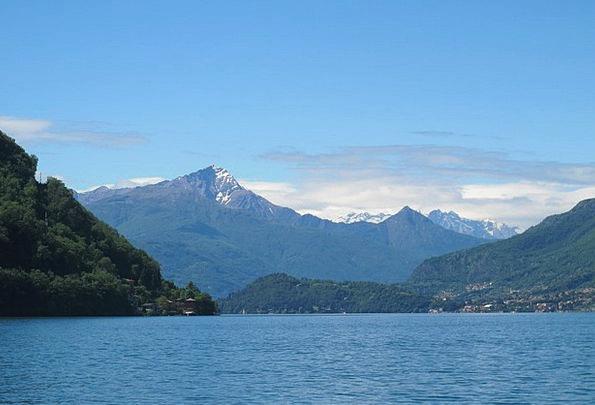 Lake Como Landscapes Nature Lake Freshwater Italy