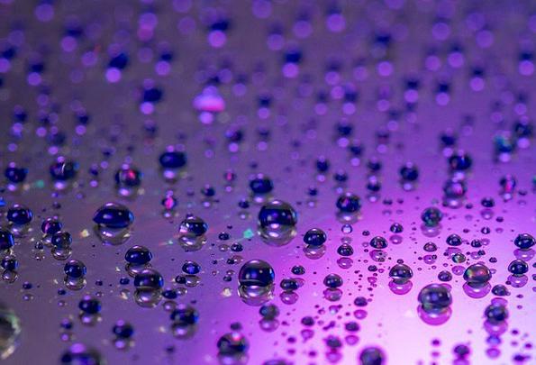 Drop Of Water Aquatic Drip Drop Water Lichtspiel S