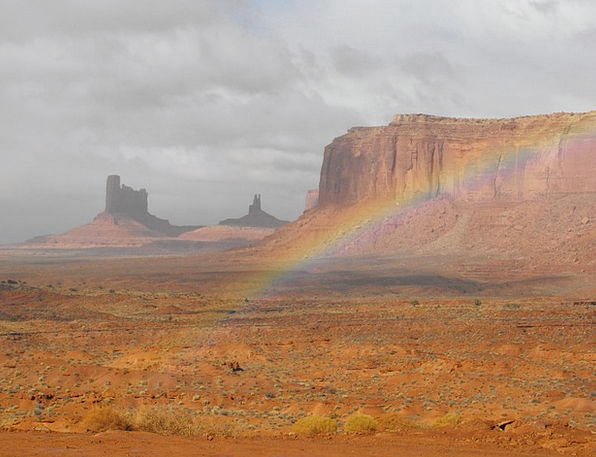Monument Valley Landscapes Multicolored Nature Pla