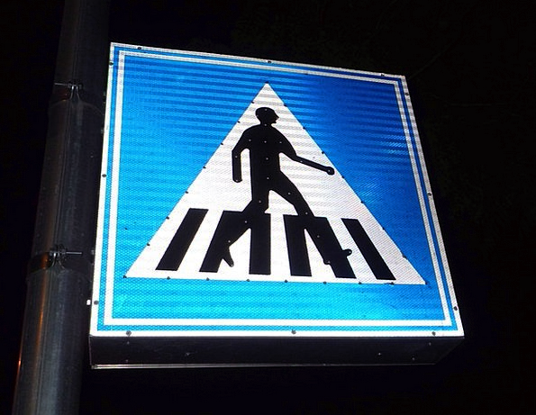 Traffic Signal Walkers Transit Transportation Pede