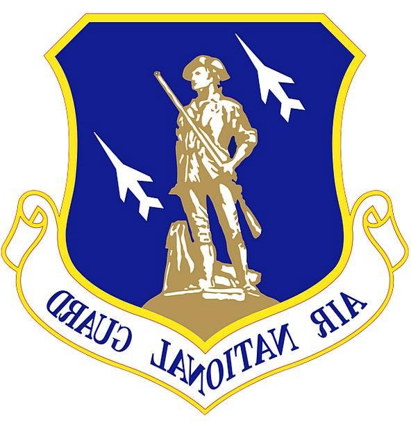 Air National Guard Sign Emblem Symbol Military Army Airplanes