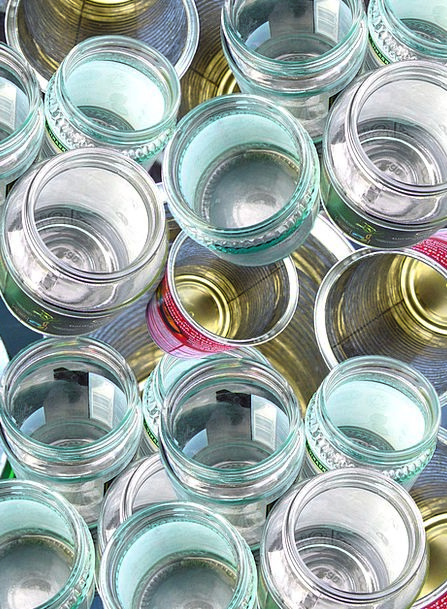 Glass Cut-glass Reprocessing Cans Dismisses Recycl