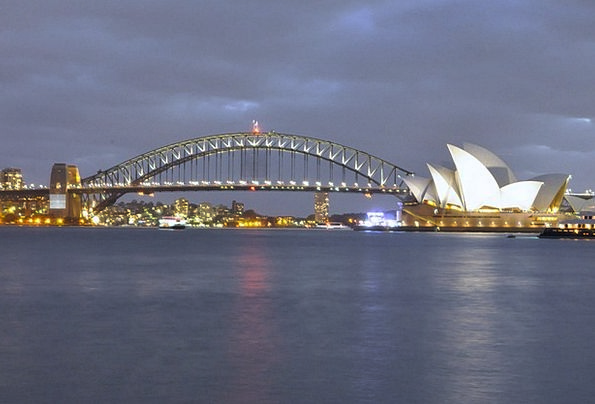 Sydney Monuments Places Opera House Harbour Bridge