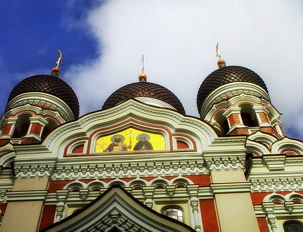 Cathedral Estonia Tallin Clouds Church Ecclesiasti
