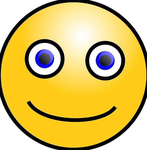 Emoticon Beam Symbol Sign Smile Expression Look Fr