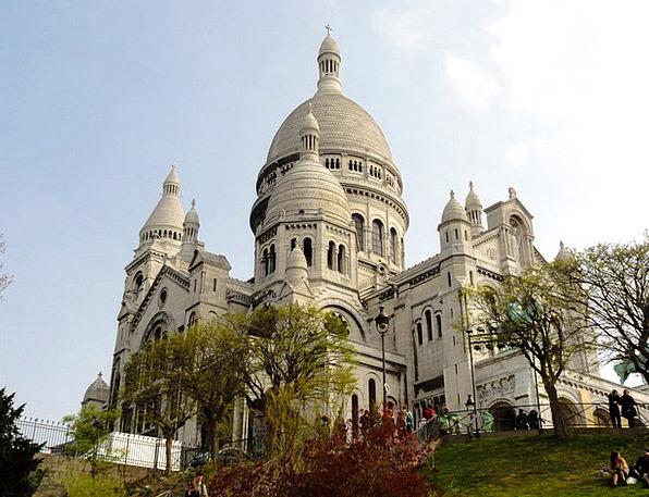 Paris Sacré Coeur Basilica Montmartre House Of Wor