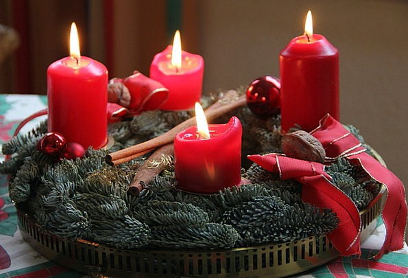 Advent Arrival Advent Wreath 4 Advent