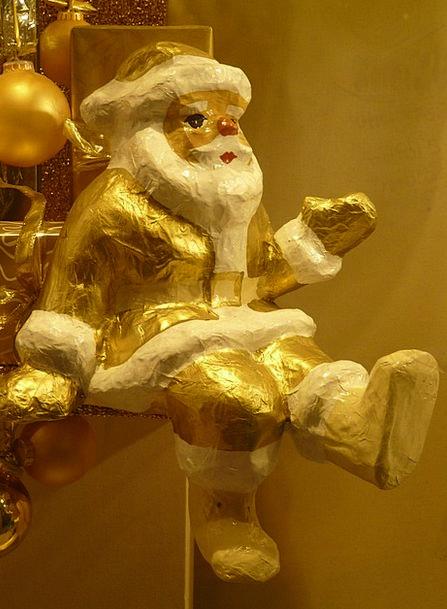 Santa Claus Decoration Beautification Christmas Ba