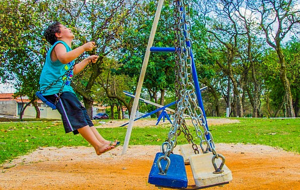 Balance Equilibrium Youngster Playground Park Chil