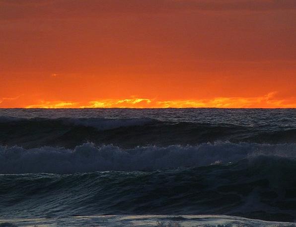 Sunset Sundown Vacation Marine Travel Beach Seasho