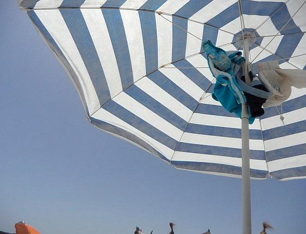 Screen Shade Vacation Sunshade Travel Striped Barr