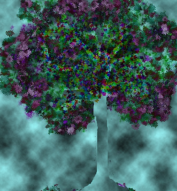 Tree Sapling Nightly Tenebrosa Night Darkness Dark