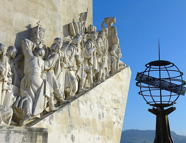 Padrão Dos Descobrimentos Belem Monument Of The Di