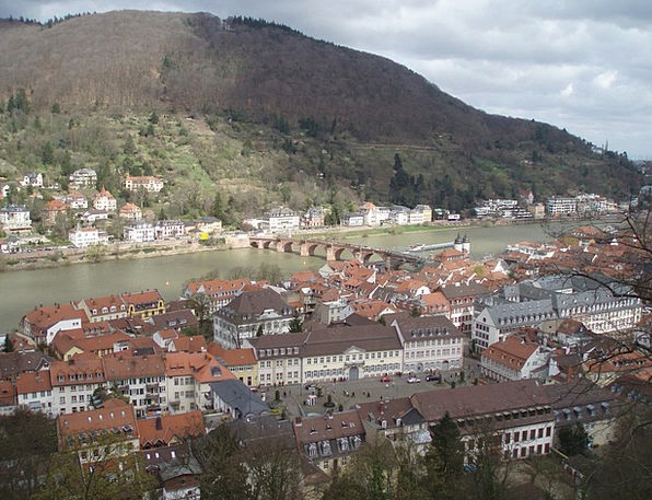 Heidelberg Neckar Philosopher'S Path