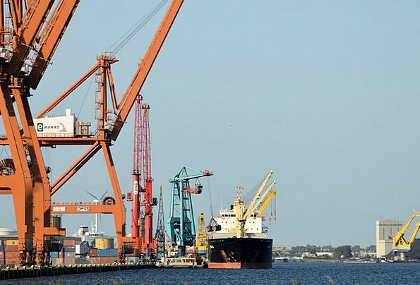 Cargo Ship Craft Industry Industry Manufacturing F