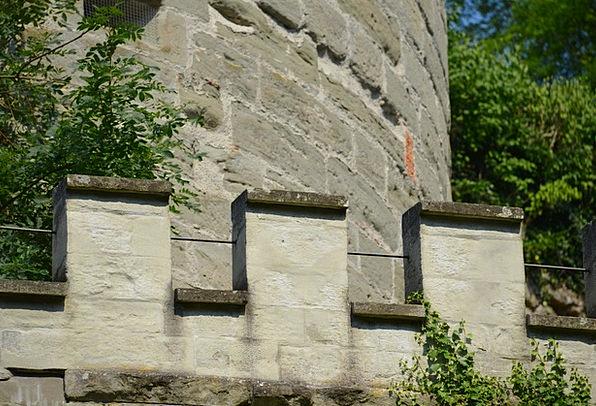 Castle Buildings Architecture Tower Barbican Castl