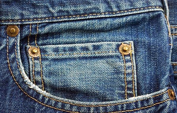 Jeans Pants Fashion Azure Beauty Pocket Concise Bl