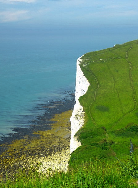 Chalk Cliffs Landscapes Nature Cliffs Precipices E
