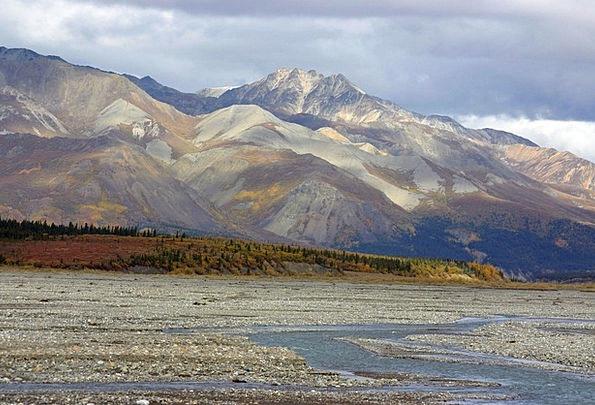 Alaska Landscapes Wasteland Nature Tundra Wilderne