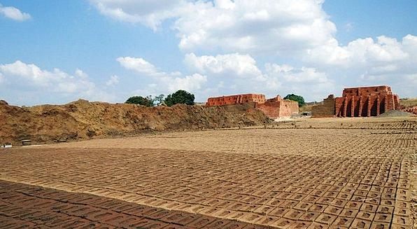 Brick-Laying Buildings Architecture Brick-Kiln Bri
