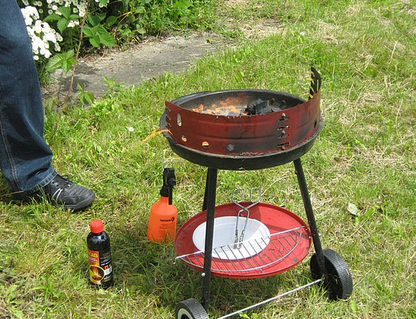 Grill Grate Red-hot Eating Consumption Burning Tid