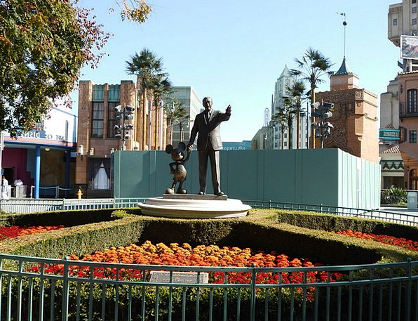 Walt Disney Buildings Architecture Art Painting Disney