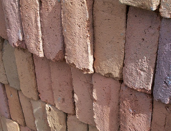 Bricks Elements Buildings Earthen Architecture Red