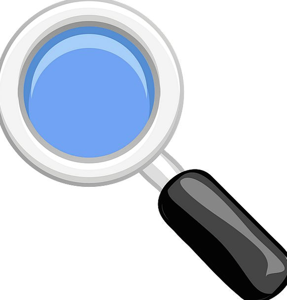 Magnifying Glass Lense Loupe Free Vector Graphics