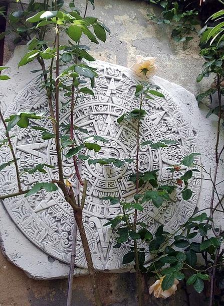 Maya Pebble Relief Respite Stone Symbols Ciphers A