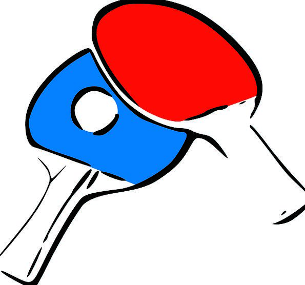 Bat Chime Pong Stink Ping Activity Racket Row Ping