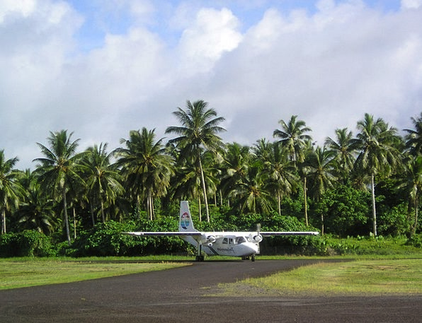 Aircraft Airplane Minor Samoa Small Exotic Unusual