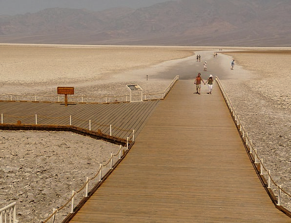 Badwater Salt Lake Salt Pan Dry Salt Salty Sierra