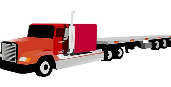 Truck Car Traffic Conveyance Transportation Multi-