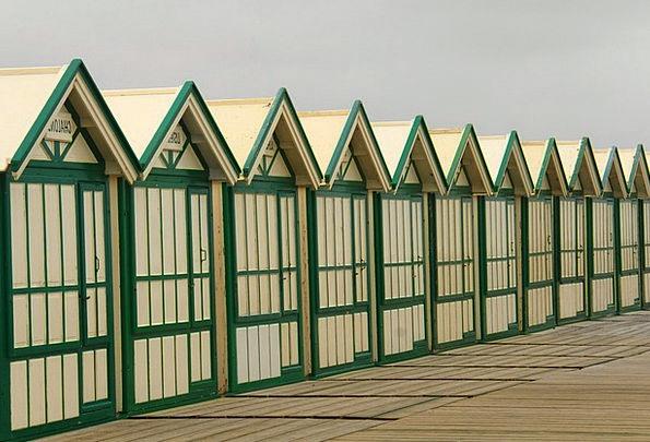 Cabins Huts Vacation Seashore Travel Alignment Arr