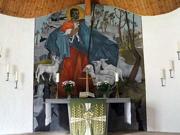 Church Ecclesiastical Inner Altar Table Interior P