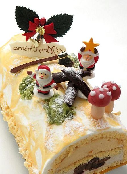 Cake Bar Drink Food Bush Denoel Christmas Winter B