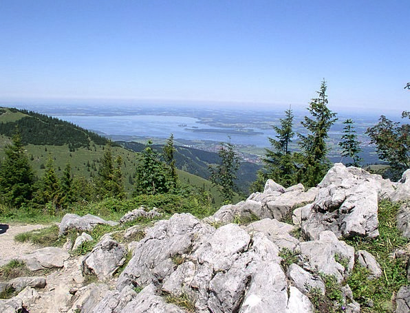 Chiemsee Landscapes Nature View Opinion Kampenwand
